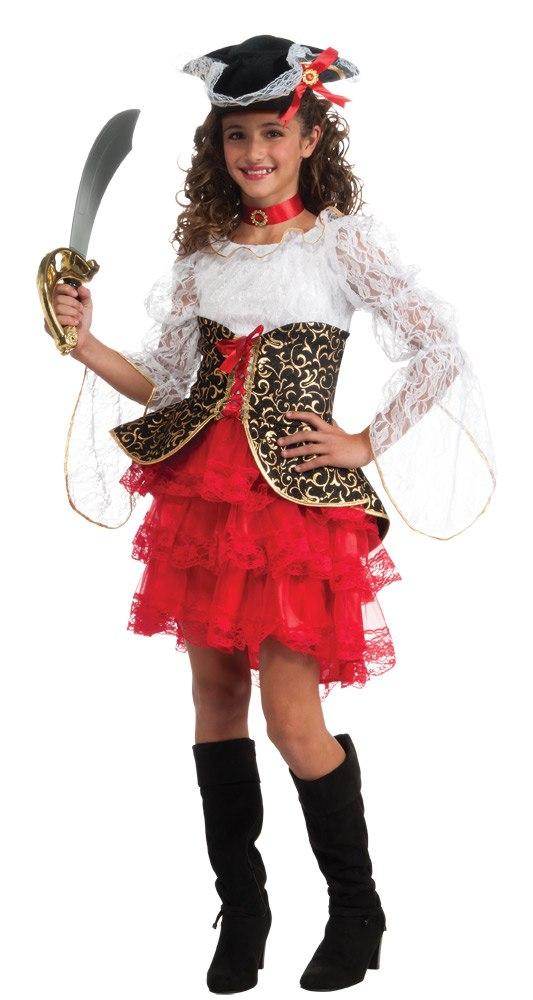 Костюм пиратки девочки своими руками