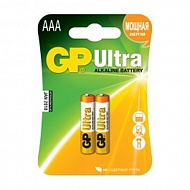 "Батарейки алкалиновые ""GP Ultra AAA"", 2 шт, GP BATTERIES"