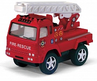 "Мод. маш. KINSMART КS3507D ""Funny Fire Engine pull back action"" инерция  1:32"